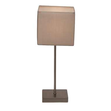 Brilliant tafellamp Aglae – grijs | 4004353219009
