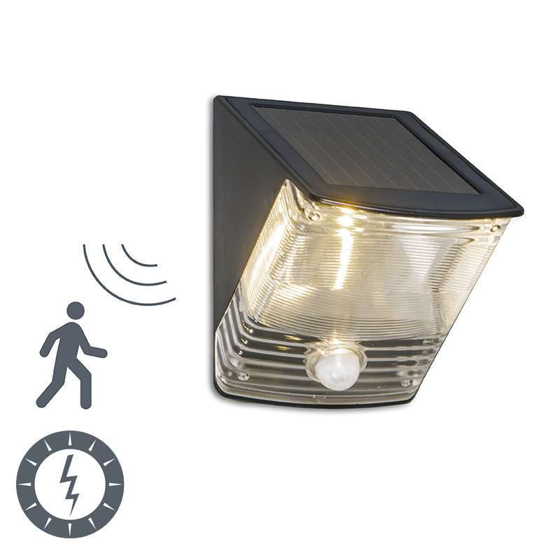 Buitenlamp Dark LED met bewegingsmelder op zonne-energie | Ranex | 8711387094439