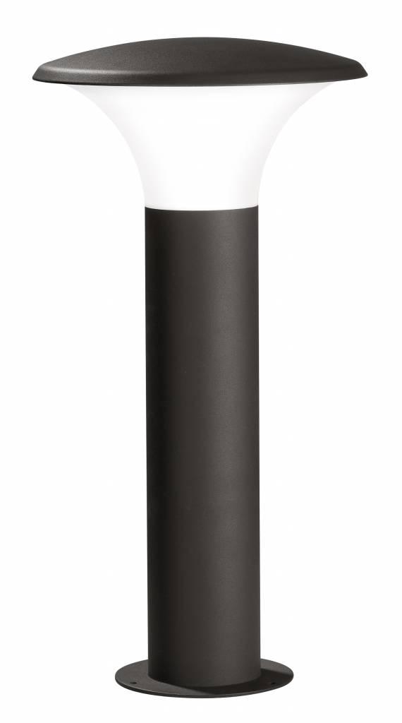 Buitenlamp LED Kongoo Zwart Sokkel      4017807241600