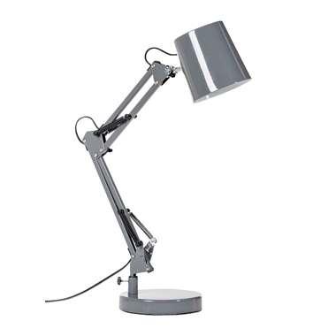 Bureaulamp Makro – grijs | 8716350074920
