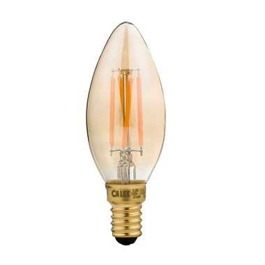 Calex LED volglas filament kaarslamp E14 | 8712879136835
