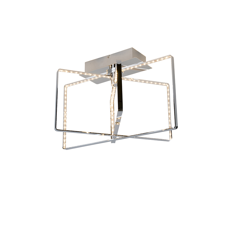 Design plafondlamp chroom incl. LED – Circus | Reality | 4017807285277