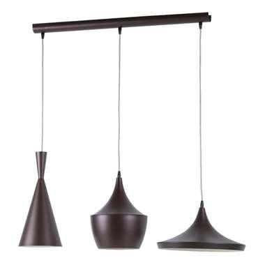 EGLO hanglamp Marazio – donkerbruin – 150 cm | 9002759391546