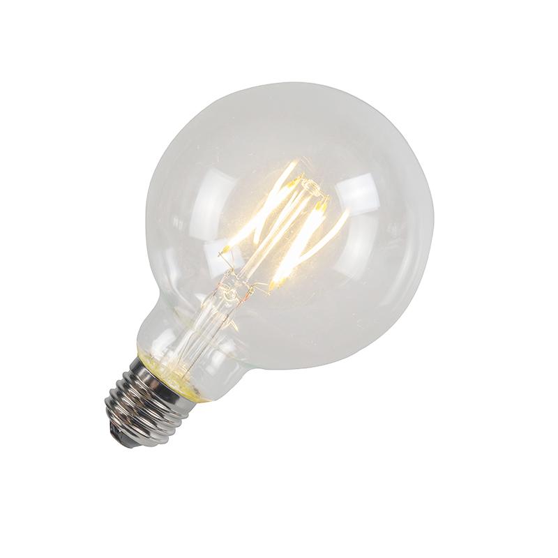 Filament LED lamp G95 4W 2700K helder   LUEDD   8718881043307