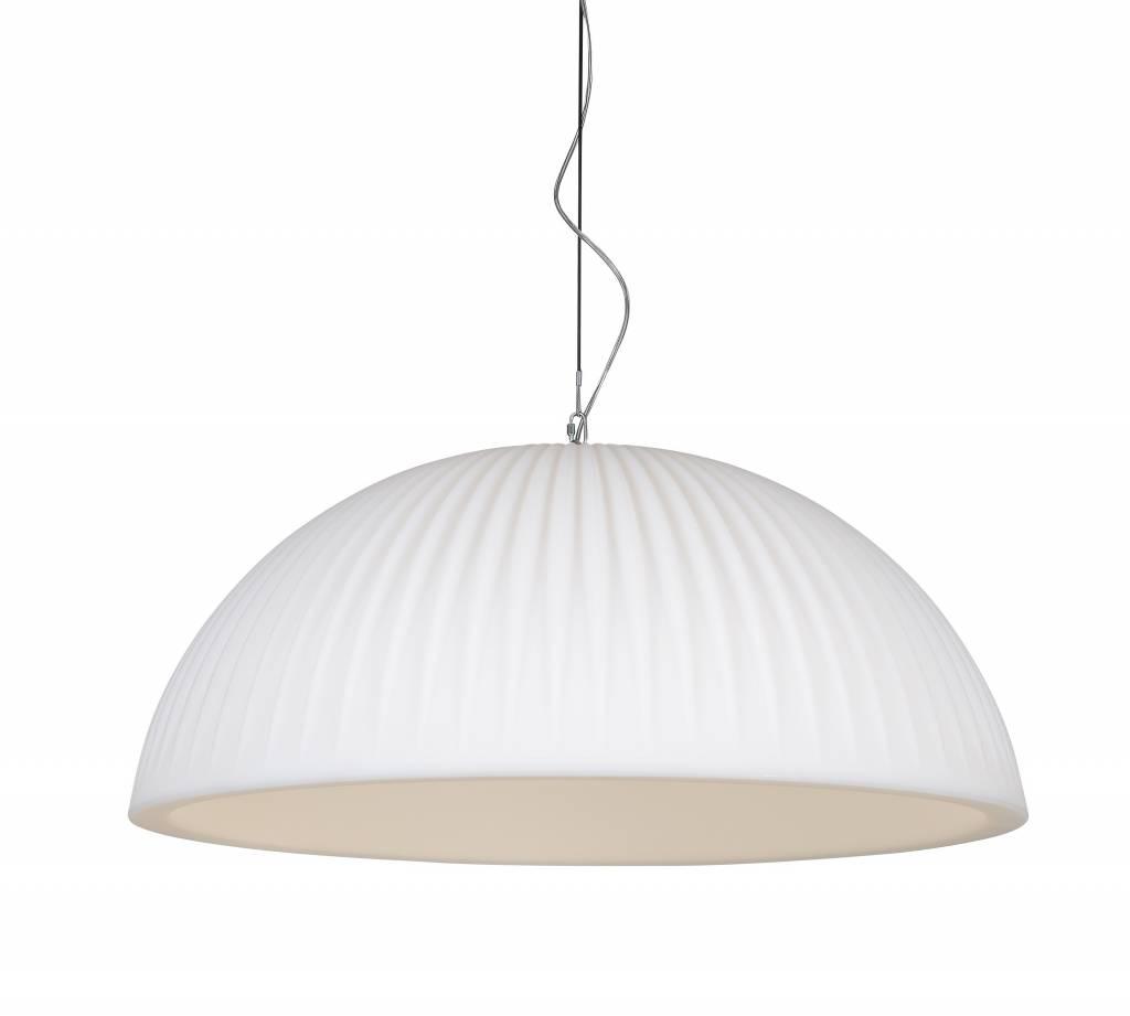 Formadri Hanglamp Basic Dome 90 Rib White | Formadri | 7101122719146
