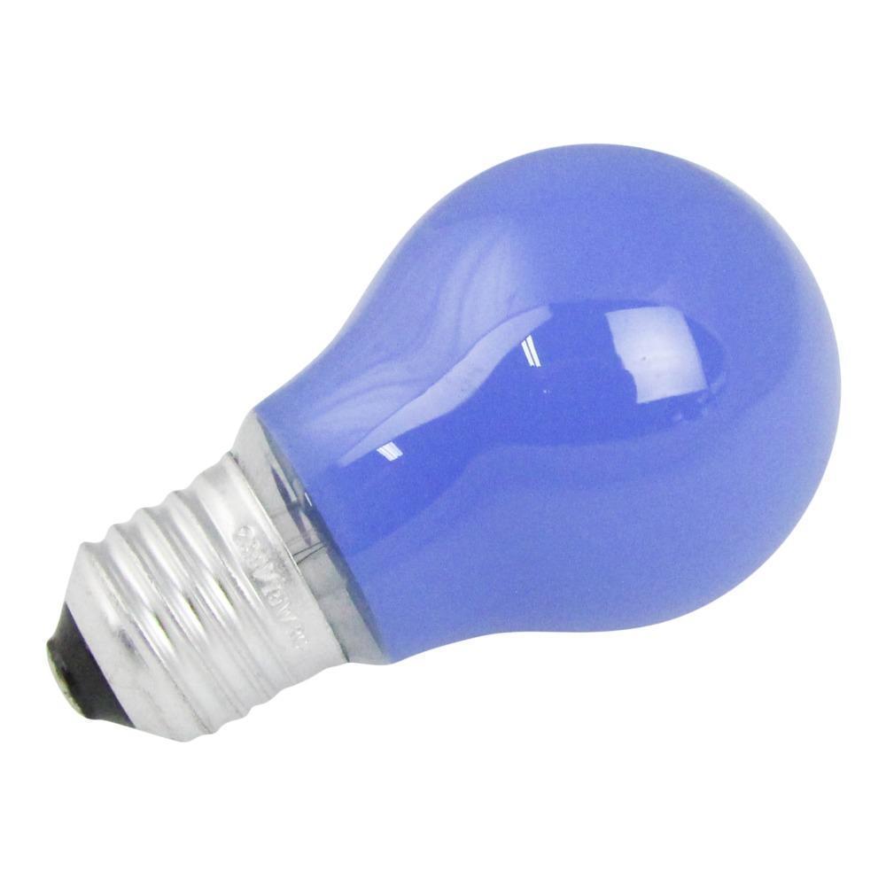 Gloeilamp E27 15w 230v Blauw | Lampdirect Huismerk | 8718226346575