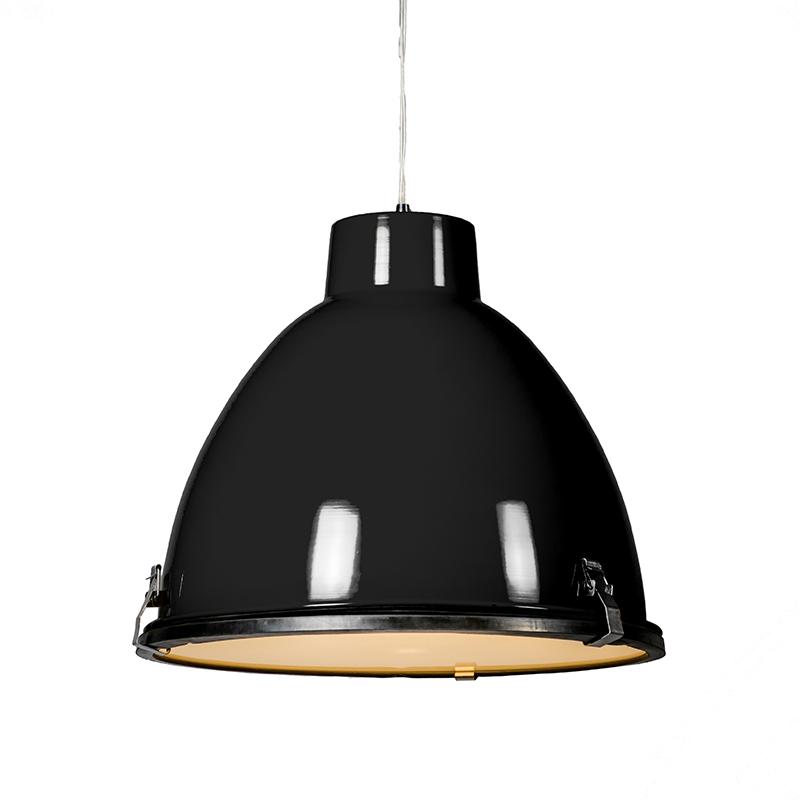 Hanglamp Anteros 38 zwart | QAZQA | 8718881020001