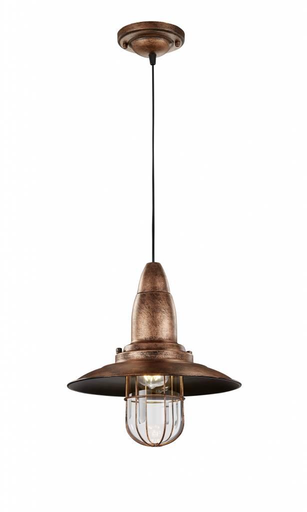 Hanglamp Fisherman Antiek Koper      4017807286175