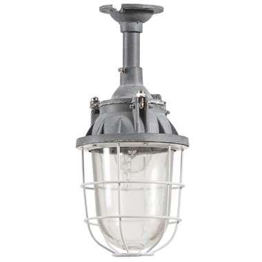 Hanglamp Jarie – cementkleur – 16x16x36 cm | 4004353277313