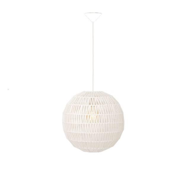 Hanglamp Knit Wit 40cm      8718444956839