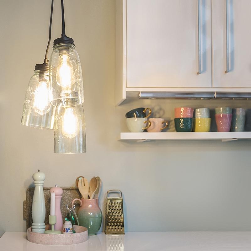 Hanglamp Masons pastelgeel | QAZQA | 8718881051548