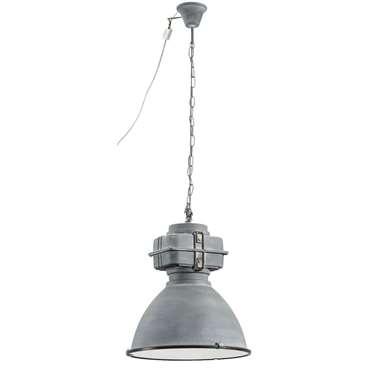 Hanglamp Mischa – cementkleur – Ø46 cm | 4004353277337