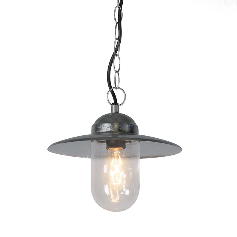 Hanglamp Munich zink | QAZQA | 8718881040177