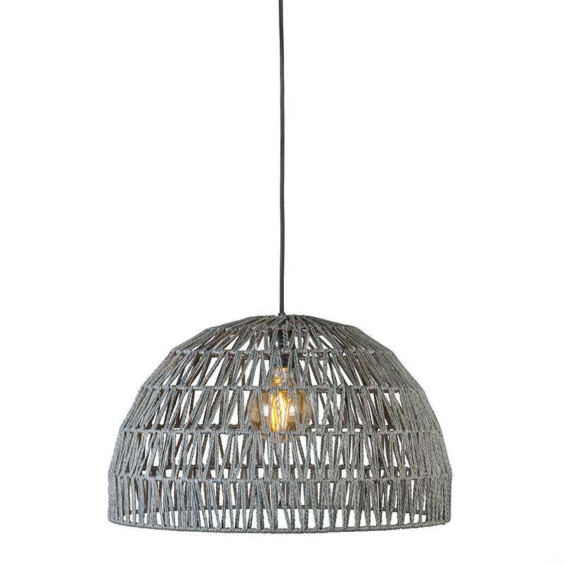Hanglamp Papella 2 grijs | QAZQA | 8718881045462