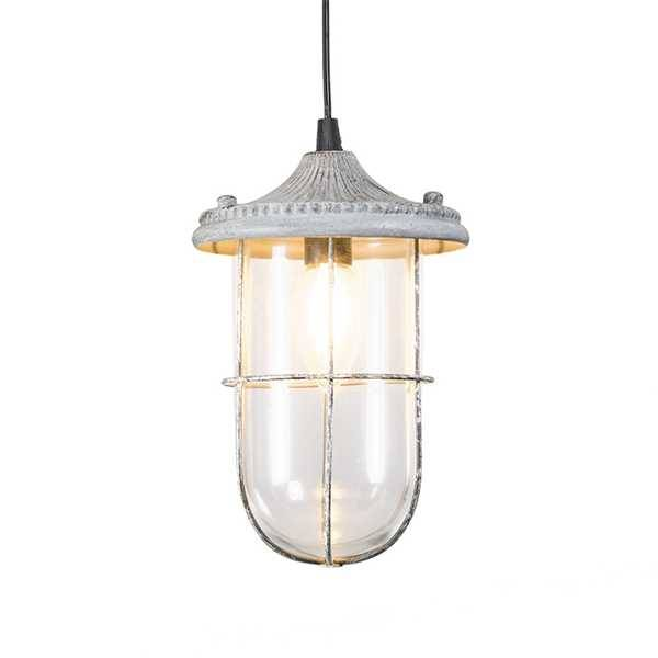 Hanglamp Vintage Birte Old Grey |  | 4017807286557