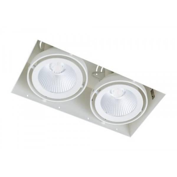 Inbouwspot 2 Lichts Wit Trimless 15Watt Led |  | 7109613681088