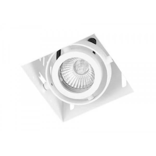 Inbouwspot Vierkant Wit Trimless GU10 * |  | 7109615635706