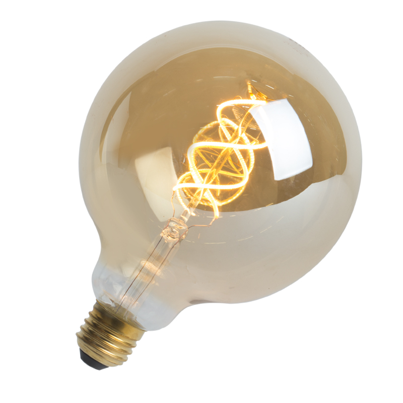 LED filament globelamp E27 5W 300 lumen warm wit 2200K | V-Tac | 3800157617246