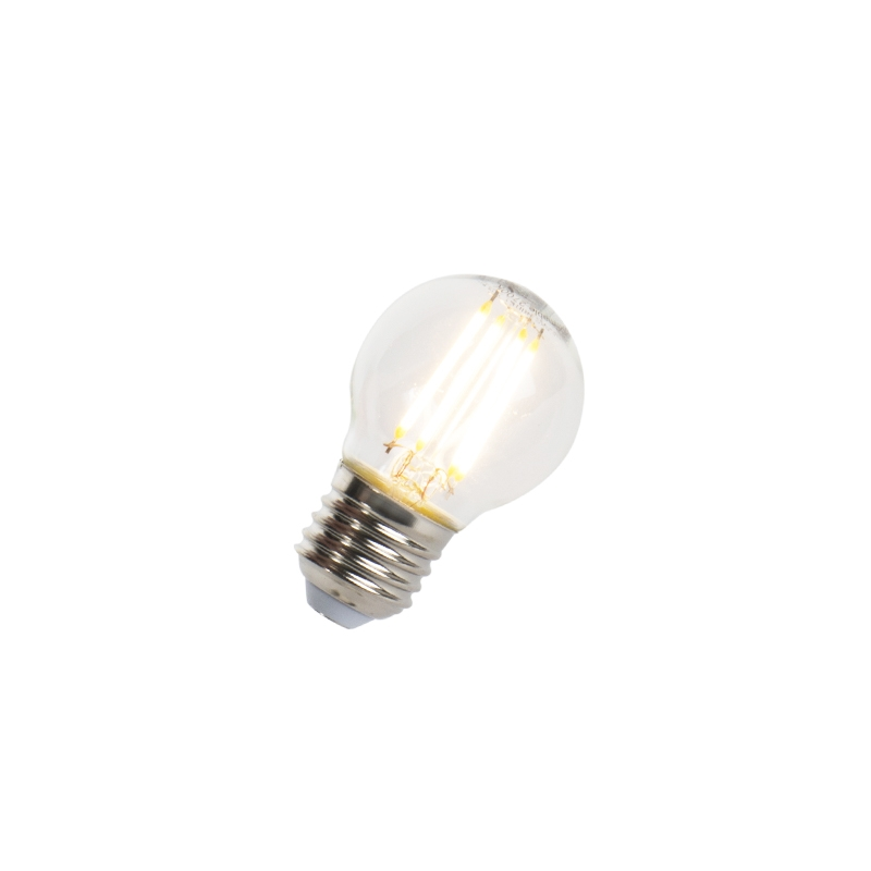 LED filament kogellamp E27 5W 470lm P45 dimbaar   LUEDD   8718881068485