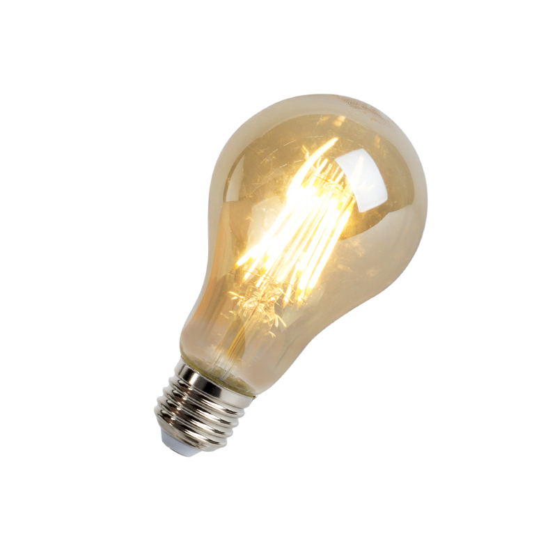 LED filament lamp E27 8W 720 lumen warm wit 2200K | V-Tac | 3800157609067