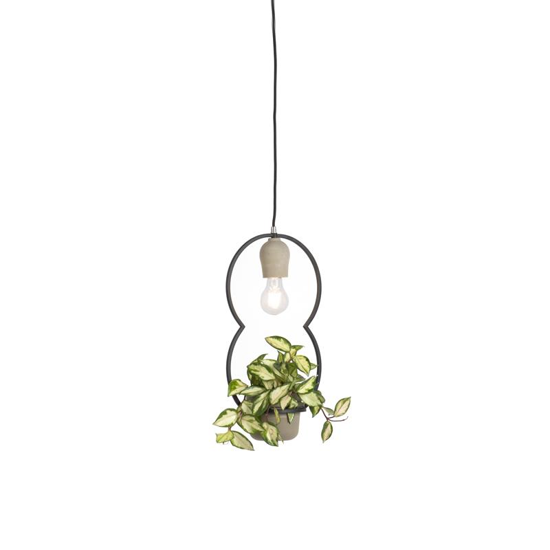 Landelijke hanglamp beton – Fauna C | QAZQA | 8718881069390