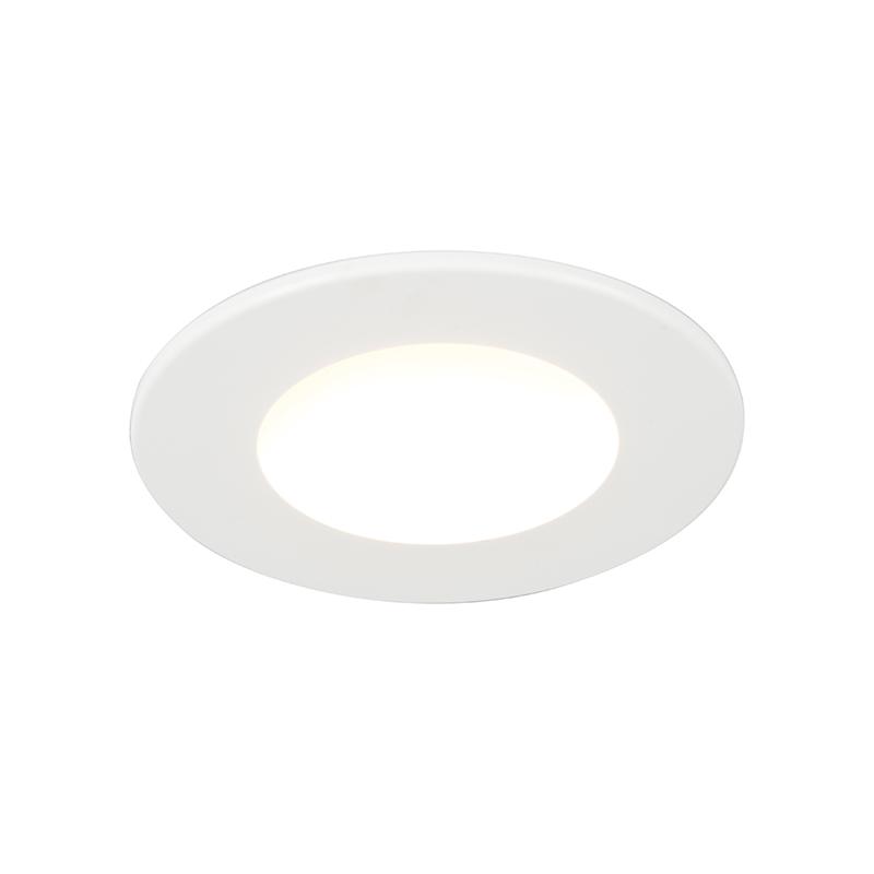 Led inbouwspot Blanca 5W 350LM IP65 wit | QAZQA | 8718881054785