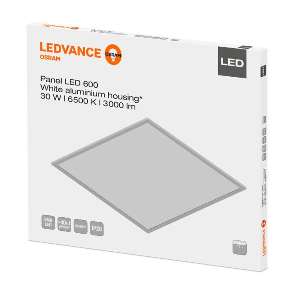 Ledvance LED Paneel 60x60cm 6500K 30W   Daglicht – Vervangt 4x18W   Ledvance   4058075000520