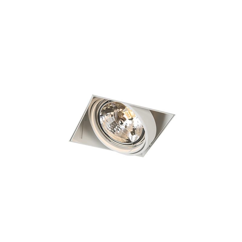 Moderne inbouwspot wit AR111 trimless – Oneon 1 | QAZQA | 8718881077760