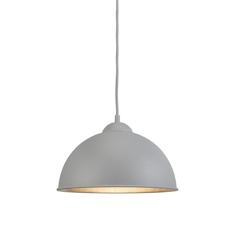 Moderne ronde hanglamp grijs – Magna Basic | Trio Leuchten | 4017807284386