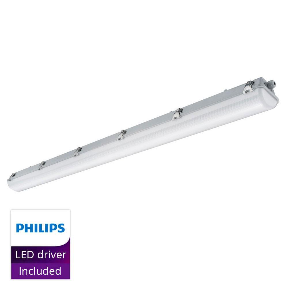 Noxion LED Armatuur Waterdicht Pro 150cm 4000K 3400lm | Doorvoerbedrading – Noodverlichtingsunit 1H – Vervangt 1x58W | Noxion | 8719157001021