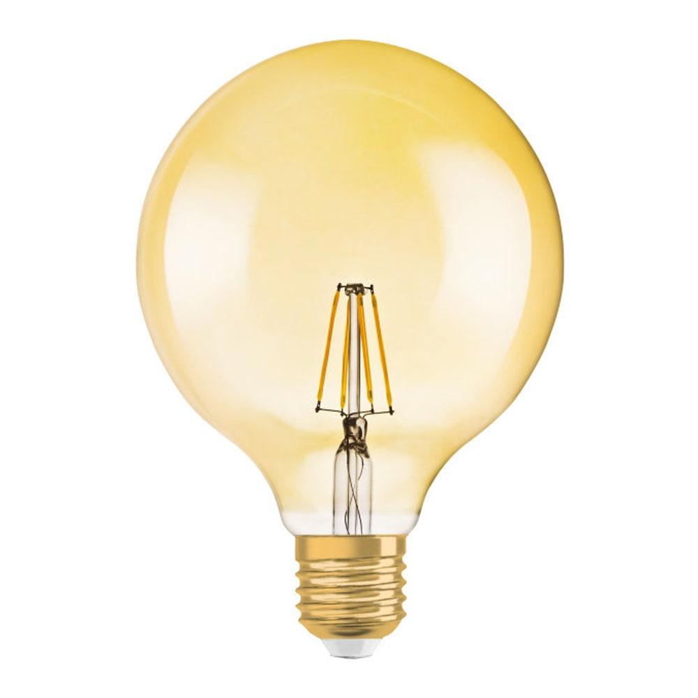 Osram Vintage 1906 LED E27 Globe 2.8W 824 Goud   Vervangt 20W   Osram   4058075808980