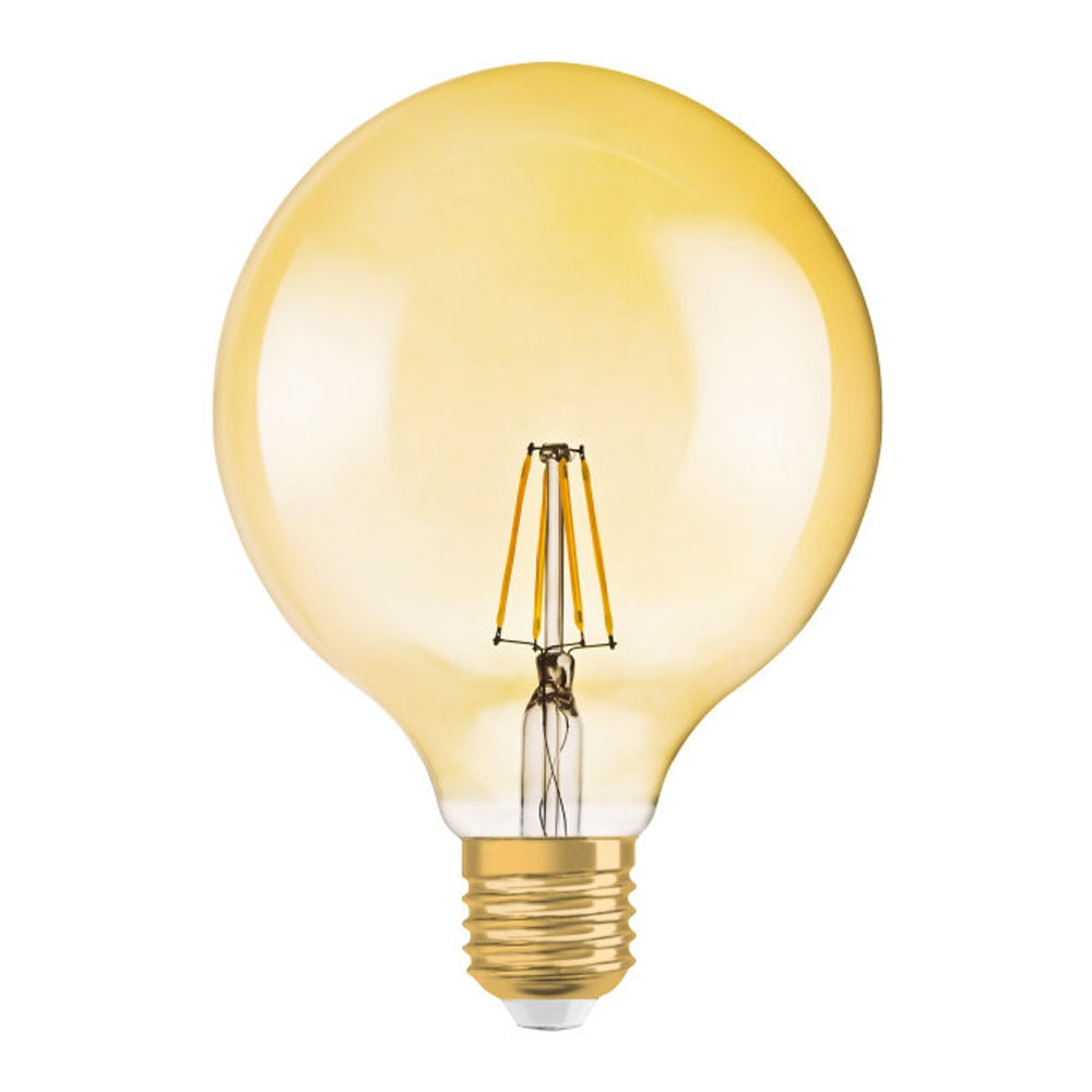 Osram Vintage 1906 LED E27 Globe 4W 824 Goud | Vervangt 35W | Osram | 4058075269828
