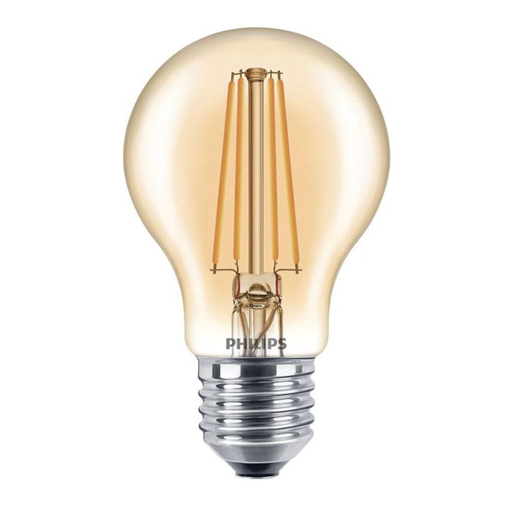 Philips Classic LEDbulb E27 A60 7.5W 820 Goud | Dimbaar – Vervangt 48W | Philips | 8718696709566
