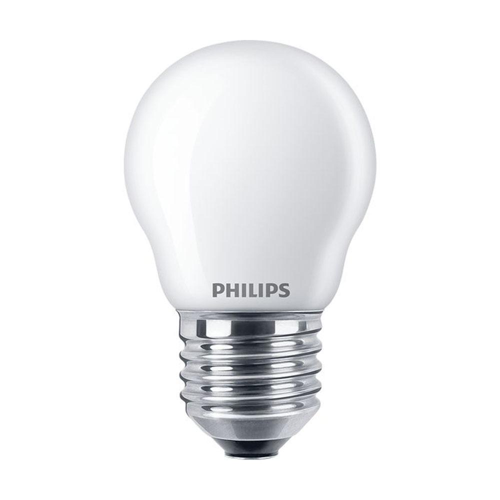 Philips Classic LEDlustre E27 P45 2.2W 827 Mat | Vervangt 25W | Philips | 8718696706459