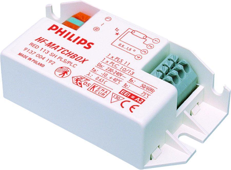 Philips HF-Matchbox Red 124 SH TL/TL5/PL-L for 1x24W | Philips | 8711500910400