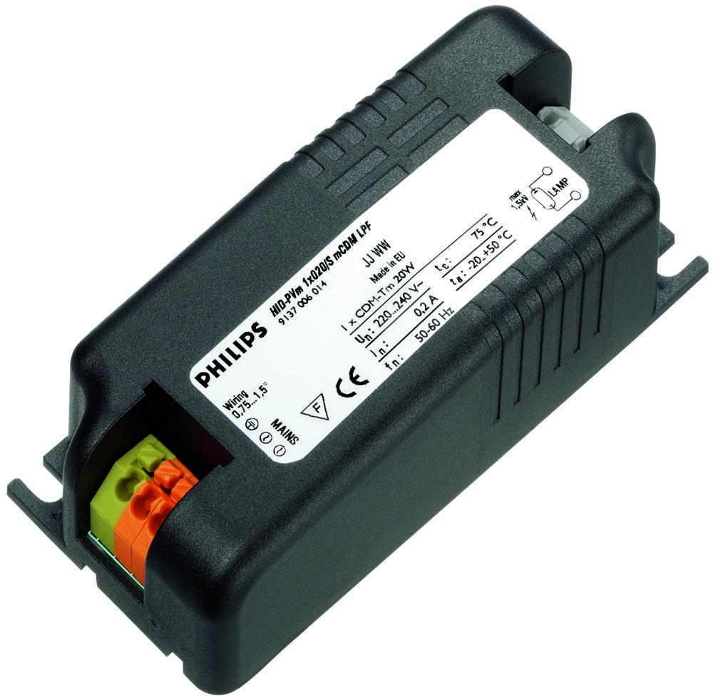 Philips HID-PV m PGJ5 20 S CDM HPF 220-240V | Philips | 8711500881885