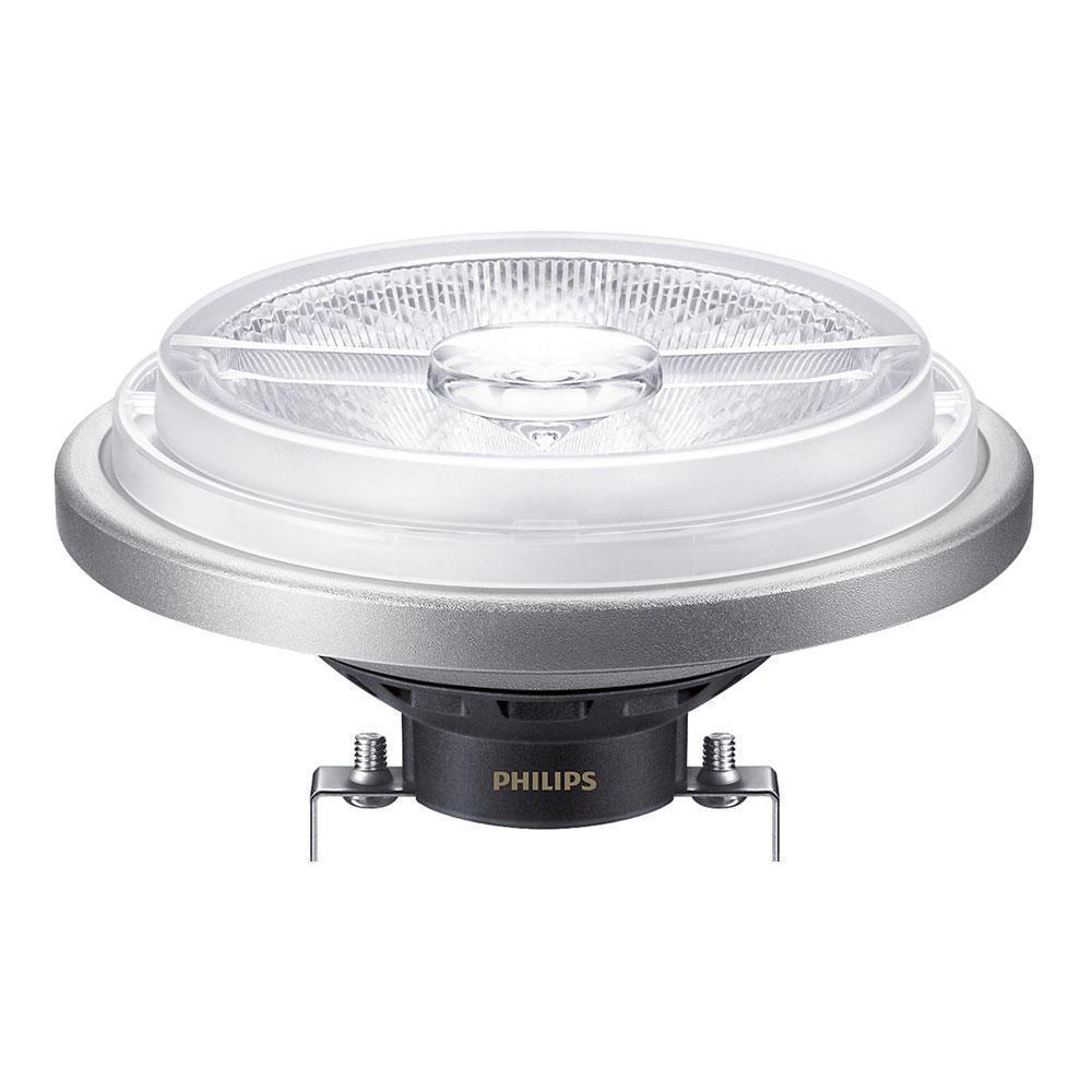 Philips LEDspot LV G53 AR111 12V 20W 830 24D (MASTER)   Warm Wit – Dimbaar – Vervangt 100W   Philips   8718696707432