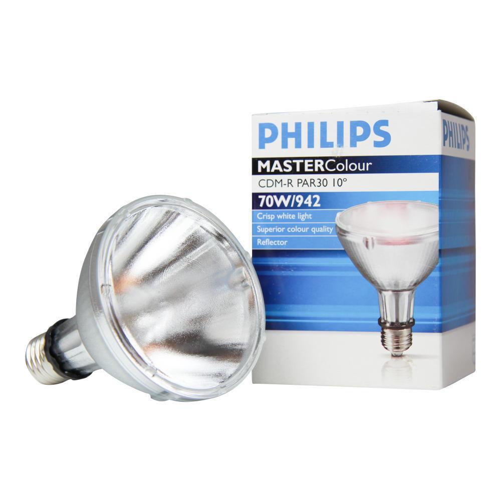 Philips MASTERColour CDM-R 70W 942 E27 PAR30L 10D | Koel Wit | Philips | 8718291651659