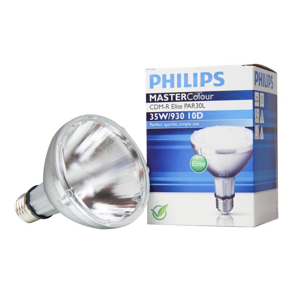 Philips MASTERColour CDM-R Elite 35W 930 E27 PAR30L 10D | Warm Wit – Beste Kleurweergave | Philips | 8718291241928
