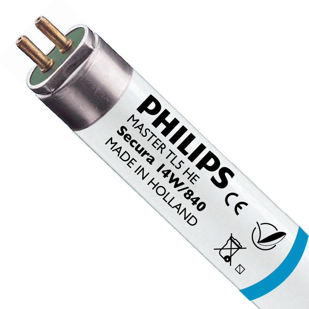 Philips TL5 HE Secura 14W 840 (MASTER)   55cm – Koel Wit   Philips   8711500954763