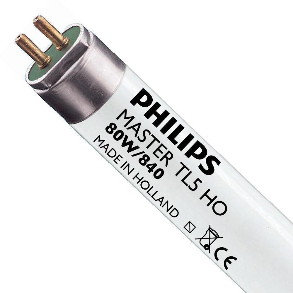 Philips TL5 HO 80W 840 (MASTER) | 145cm – Koel Wit | Philips | 8711500710451
