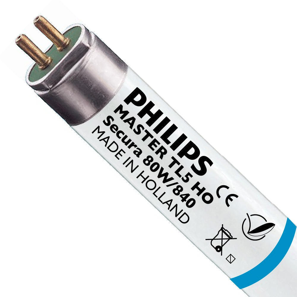 Philips TL5 HO Secura 80W 840 (MASTER)   145cm – Koel Wit   Philips   8711500952356