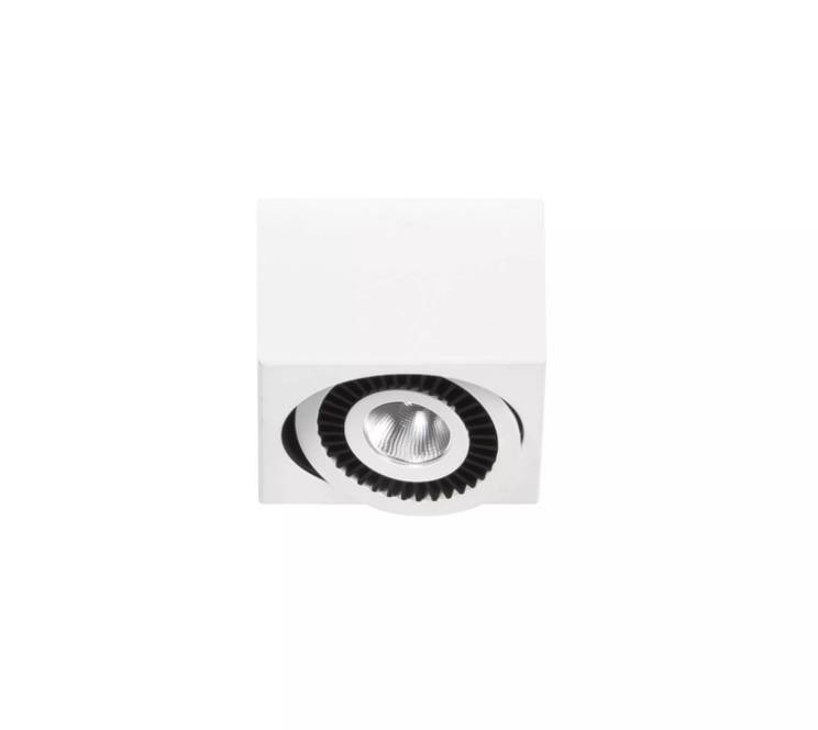 Spot Box Wit Led 1 Lichts      8718379028885