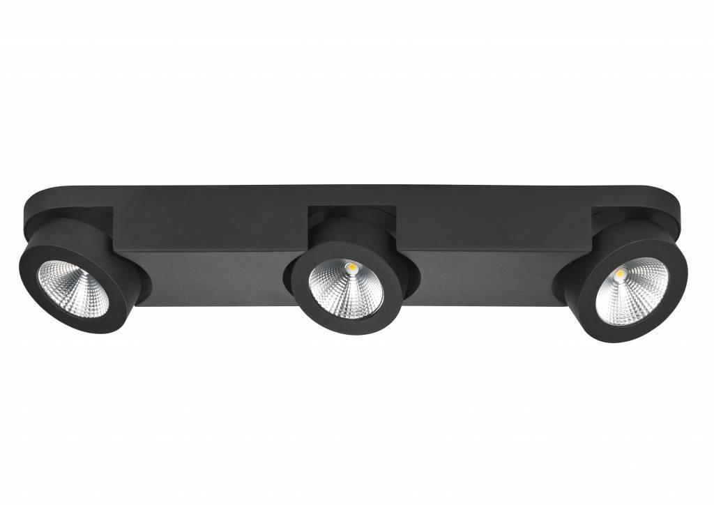 Spot Disc Mat Zwart 3 Lichts |  | 8718379029943