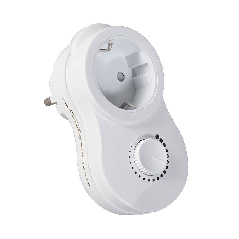 Stekkerdimmer 20-275W – niet voor spaarlampen en LED | Calex | 8712879115595