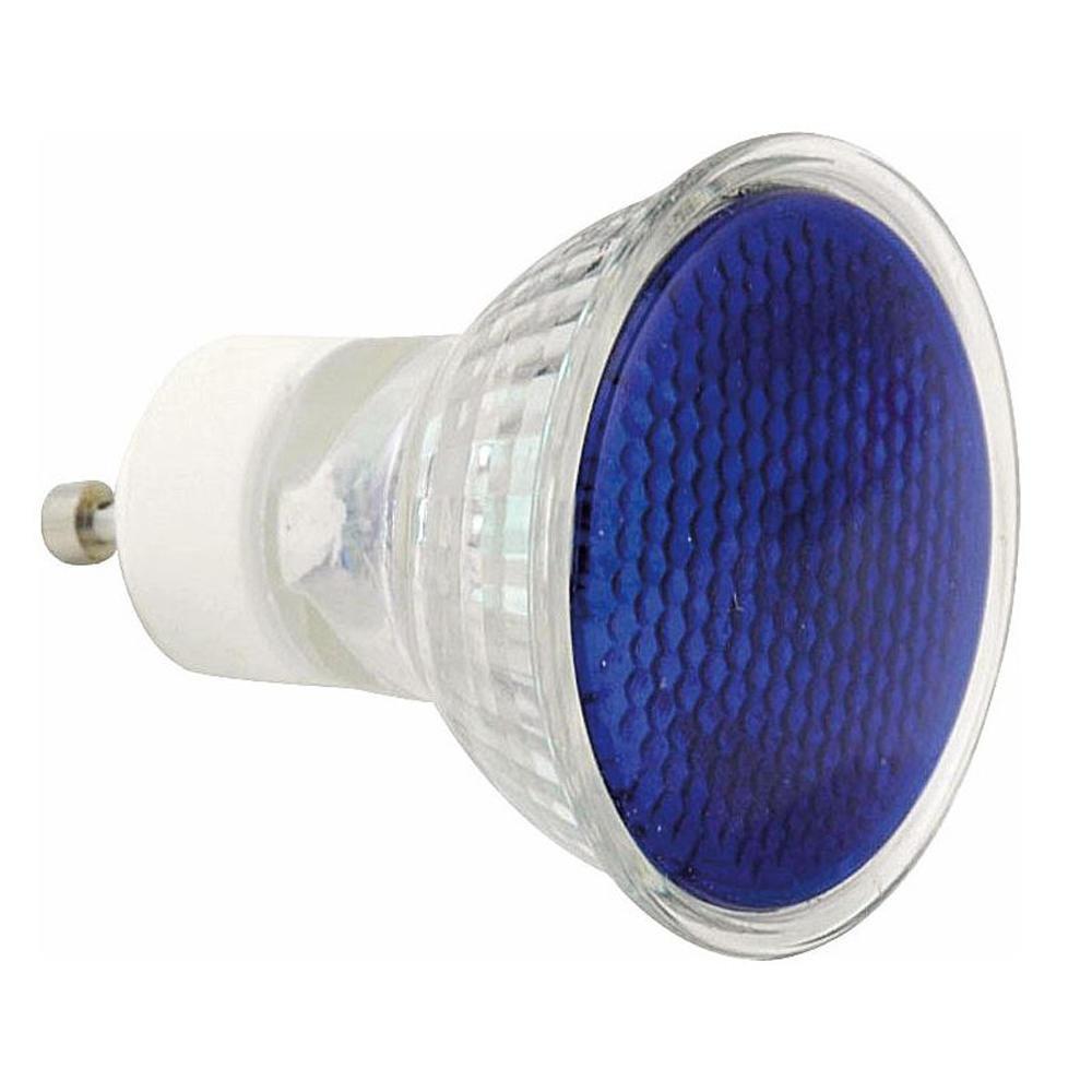 Sylvania Hi-Spot ES50 50W 25D WFL GU10 Blue   Sylvania   5410288212708