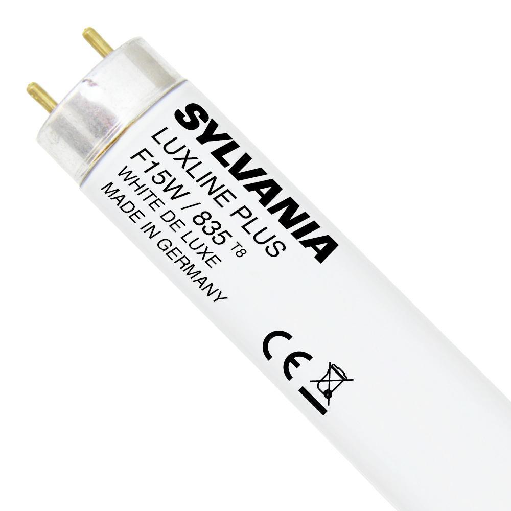 Sylvania T8 Luxline Plus F15W 835 | 45cm – Koel Wit | Sylvania | 5410288005669