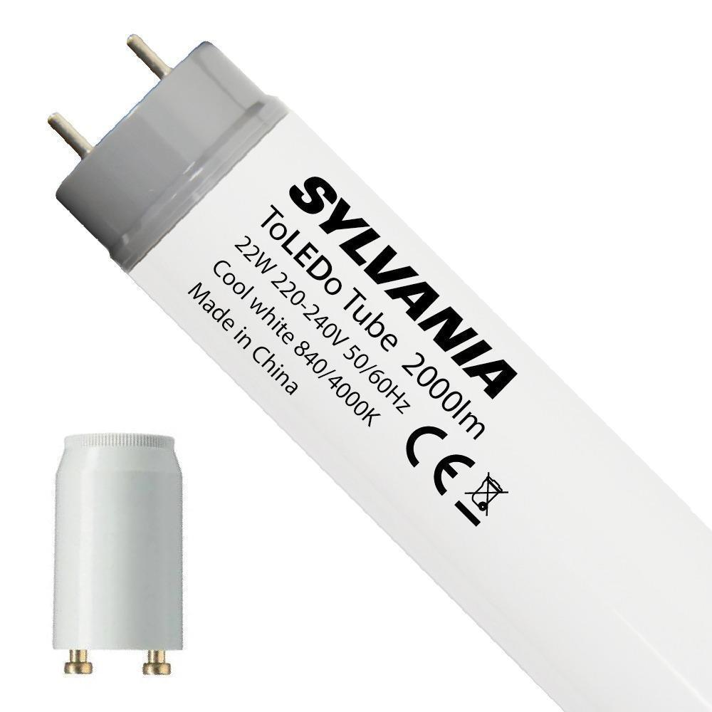 Sylvania ToLEDo EM 22W 840 150cm | Koel Wit – incl. LED Starter – Vervangt 58W | Sylvania | 5410288270920