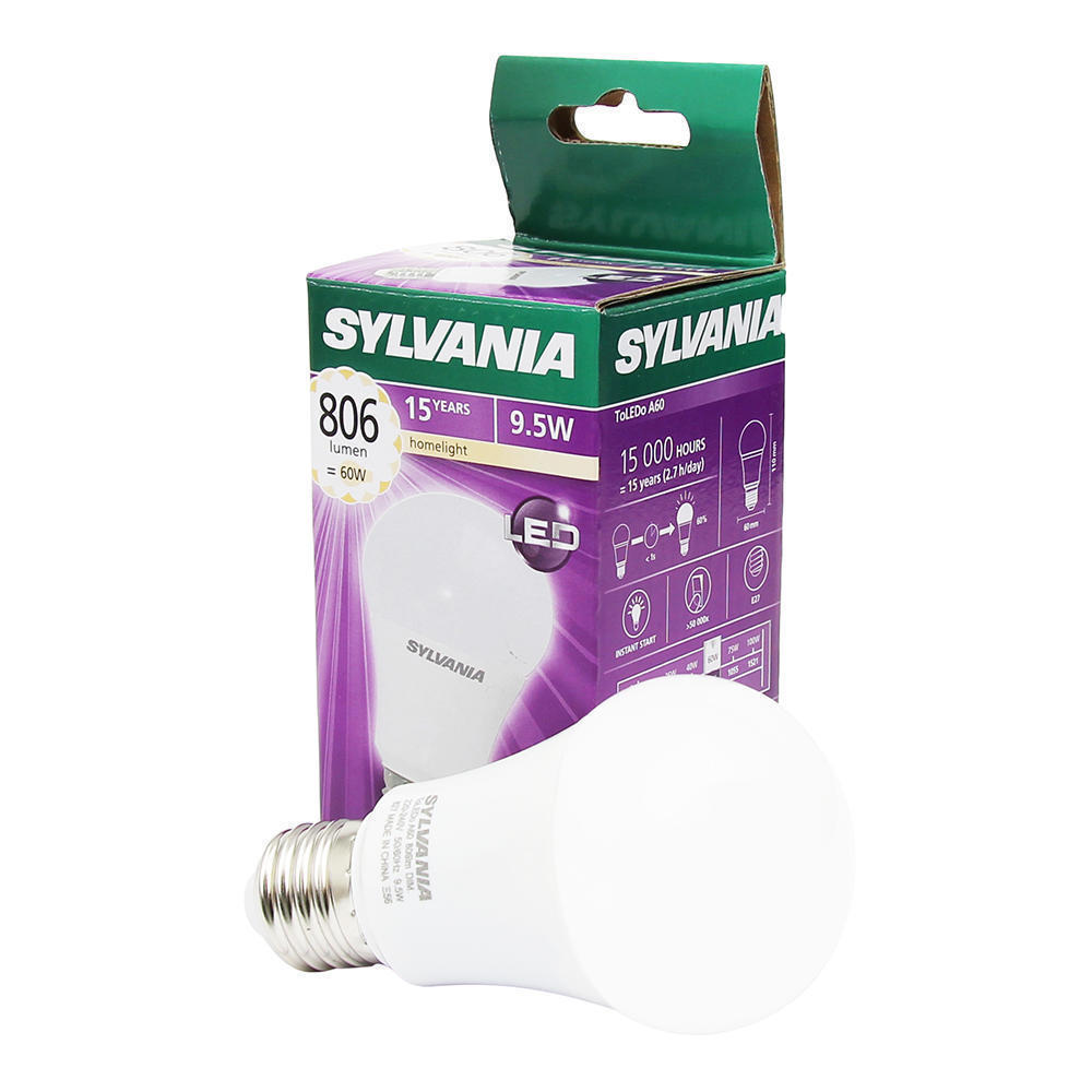 Sylvania ToLEDo GLS E27 9.5W 827 | Dimbaar – Vervangt 60W | Sylvania | 5410288266763