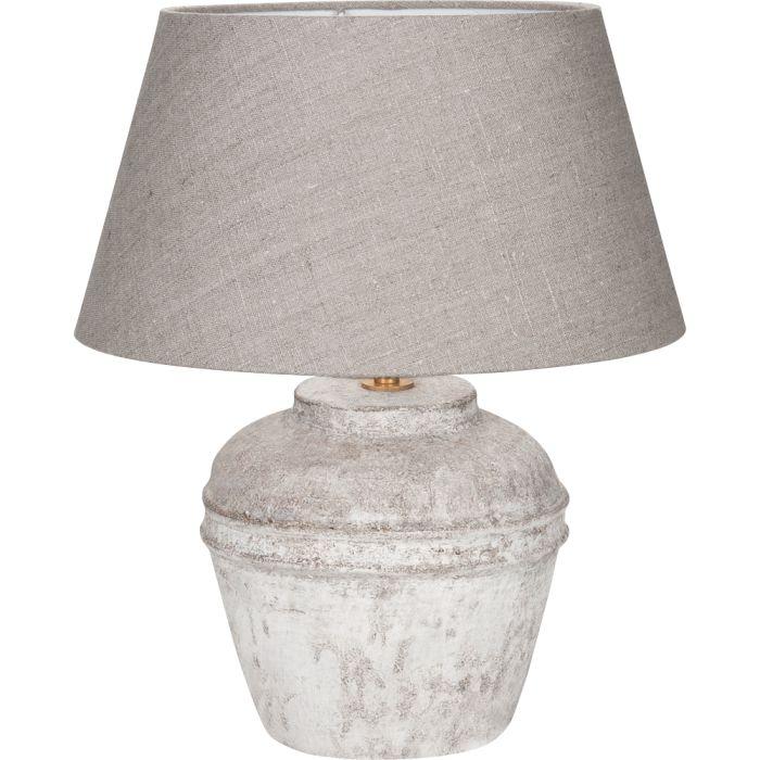 Tafellamp Kreta Scotch Linnen Grey |  | 8718379025396